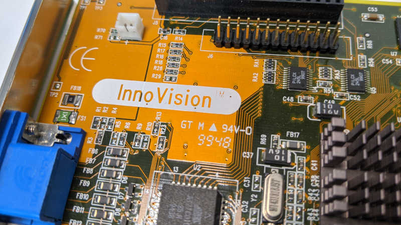 3Dfx Interactive Mighty Banshee Innovision Grafikkarte PCI 16MB GT M 94V-0 9948