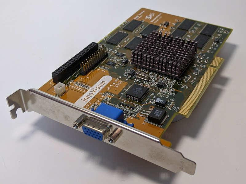 3Dfx Interactive Mighty Banshee Innovision Grafikkarte PCI 16MB