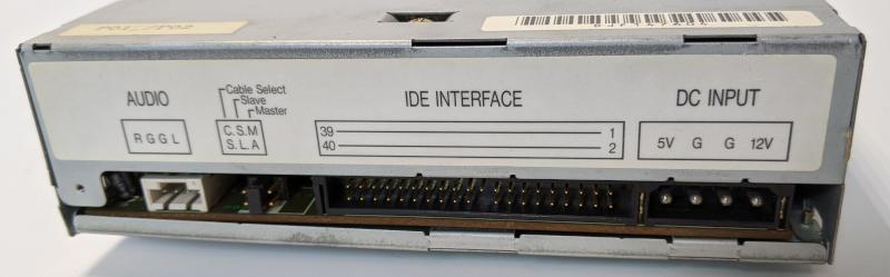 Mitsumi CRMC-FX600S CD-ROM IDE Interface Master Slave