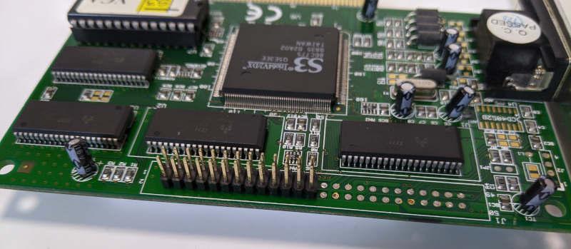 Grafikkarte S3 Trio64V2/DX Graphics PCI Expansion Port