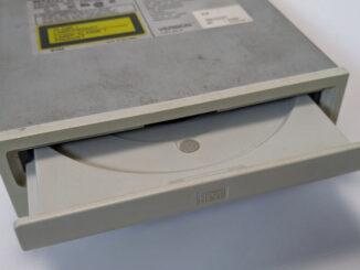 Sony CDU33A-01 CD-ROM non-IDE Interface Schublade