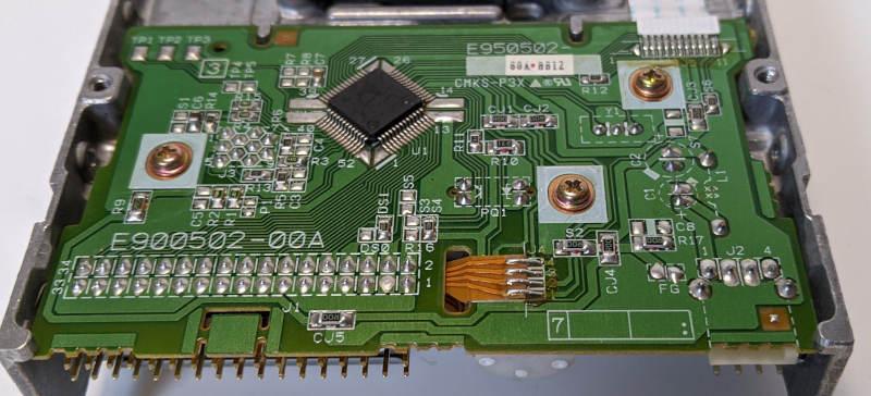Teac FD-235HF Diskettenlaufwerk 3,5 Zoll Platine E900502-00A