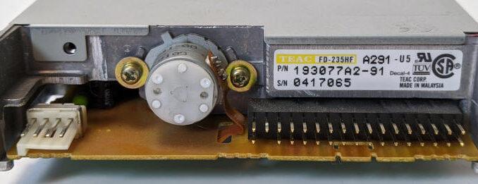 Teac FD-235HF Diskettenlaufwerk 3,5 Zoll 193077A2-91