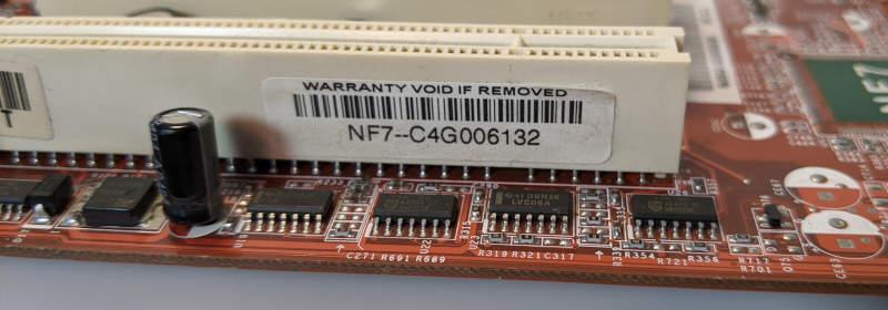 Abit NF7 PC-Mainboard nForce2 Ultra NF7-C4G006132