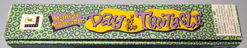 Lucas Arts Maniac Mansion Day Of The Tentacle Big-Box Deutsch