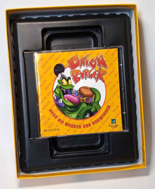 Eidos PC-Spiel Orion Burger Big-Box CD-ROM Schachtel