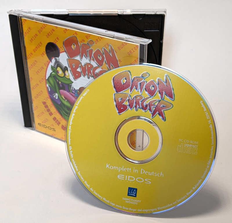 Eidos PC-Spiel Orion Burger Big-Box CD-ROM Deutsch