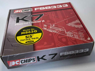 PC-Chips PC-Mainboard K7 M863G SiS 741GX Box