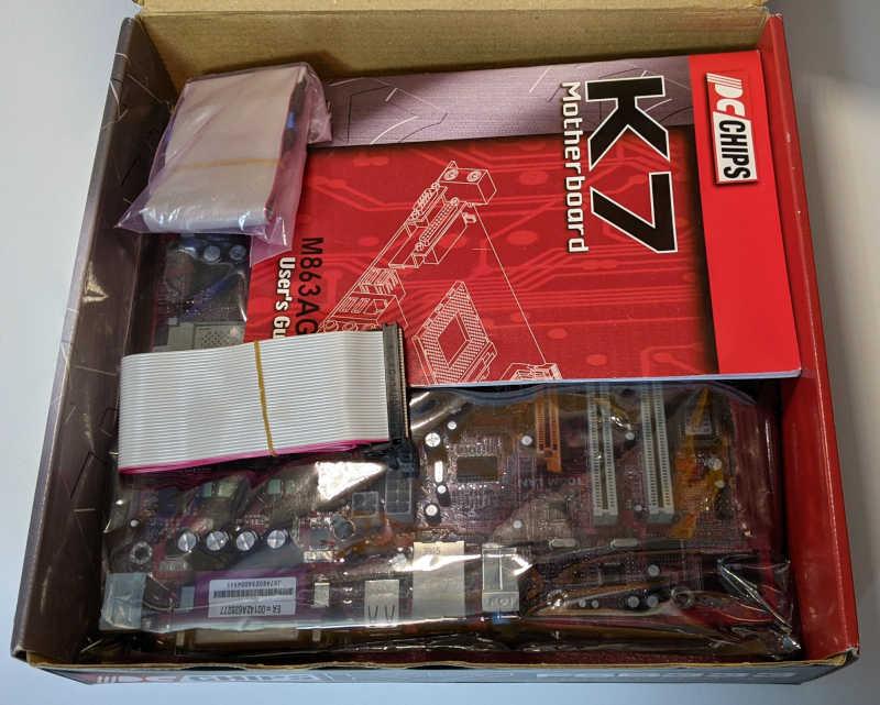 PC-Chips PC-Mainboard K7 M863G SiS 741GX Handbuch Manual