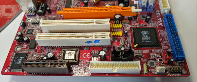 PC-Chips PC-Mainboard K7 M863G SiS Interface