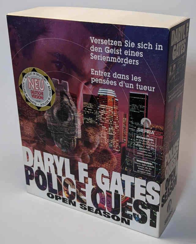 Sierra On-Line Game Police Quest Open Season - PC-Spiel - Originalverpackung
