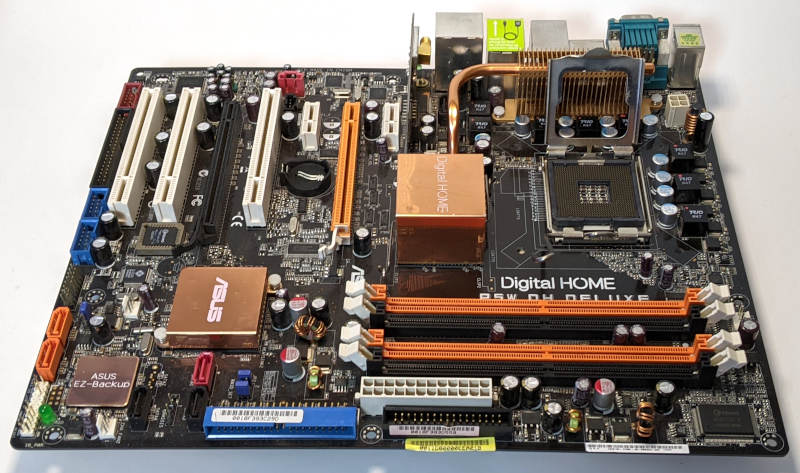 Asus P5W DH Deluxe Mainboard Digital Home