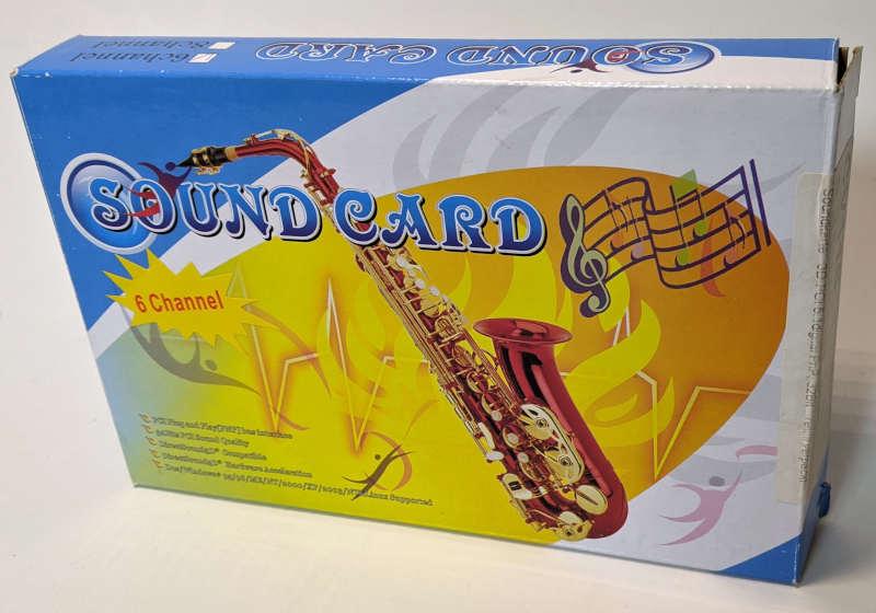 C-Media Electronics CMI8738 / 8768 Sound Card Box Verpackung