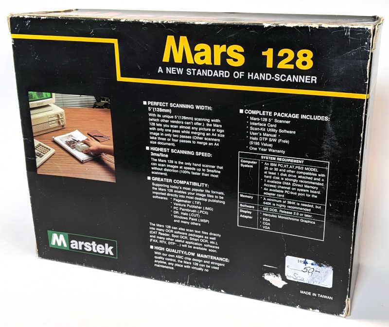 Marstek Mars 128 Hand Scanner - Originalverpackung - Made in Taiwan
