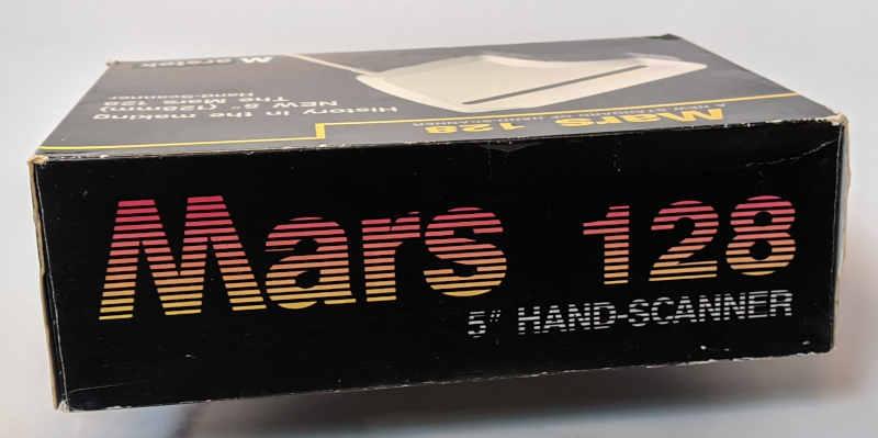 """Marstek Mars 128 Hand Scanner 5"""" - Box"""