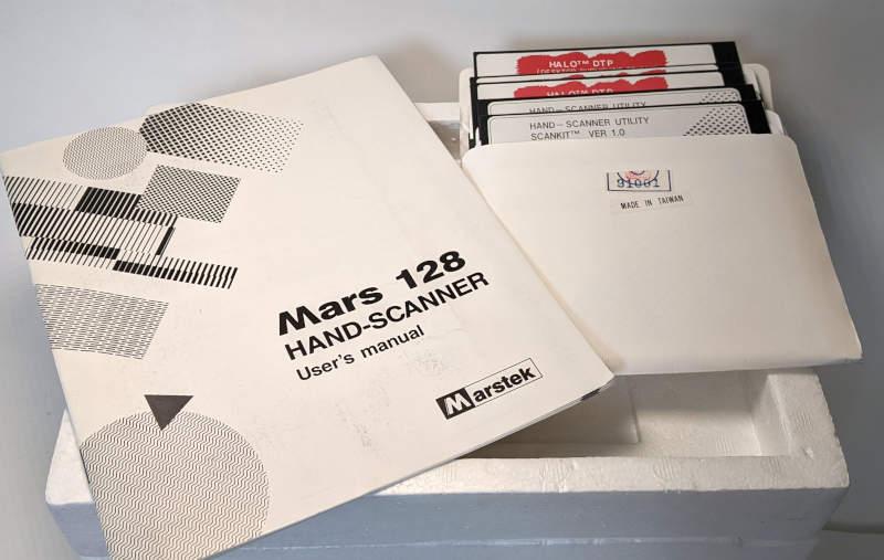 Marstek Mars 128 Hand Scanner - Manual - Handbuch