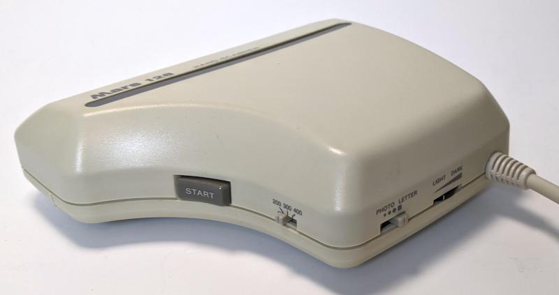 Marstek Mars 128 Hand Scanner - DPI-Einstellung - Start