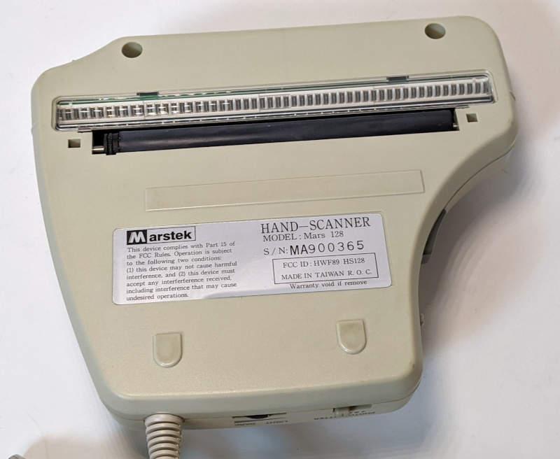 Marstek Mars 128 Hand Scanner - Unterseite