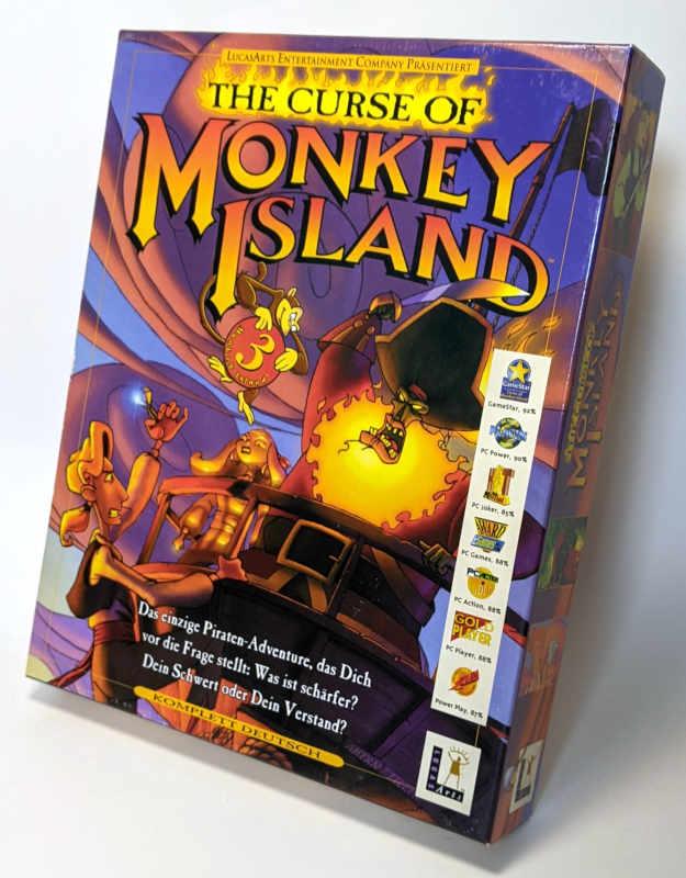 PC-Spiel The Curse Of Monkey Island 3 - Lucas Arts - Big Box