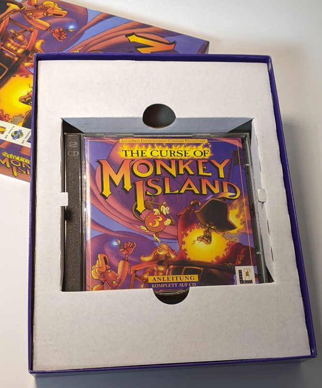 PC-Spiel The Curse Of Monkey Island 3 - Lucas Arts - CD-ROM Jewel Case