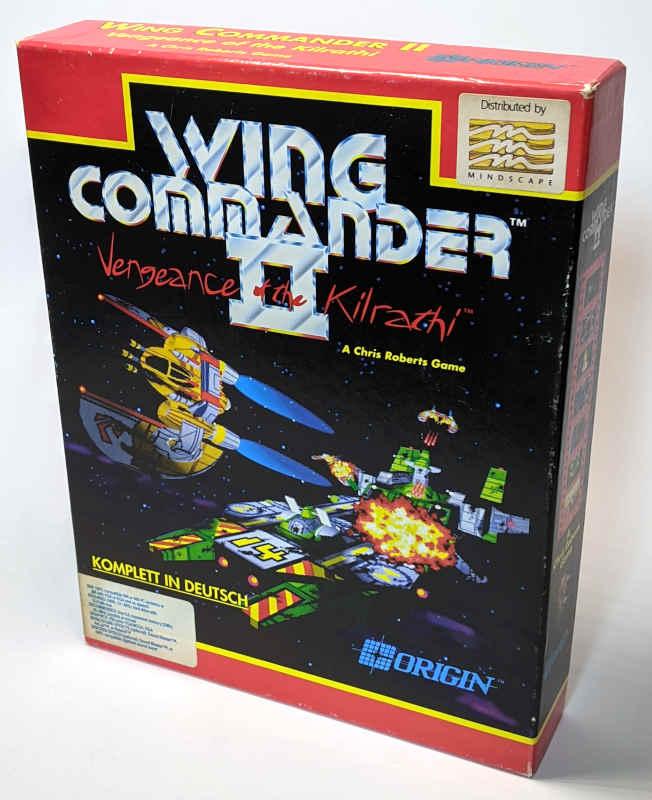 Origin Wing Commander II – Vengeance of the Kilrathi PC-Game - Big Box