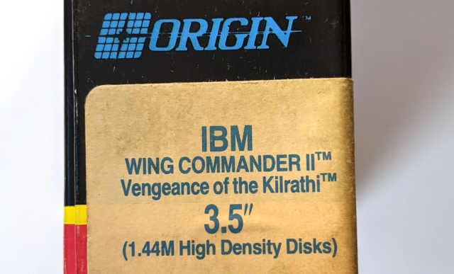 Origin Wing Commander II – Vengeance of the Kilrathi - HD Disketten