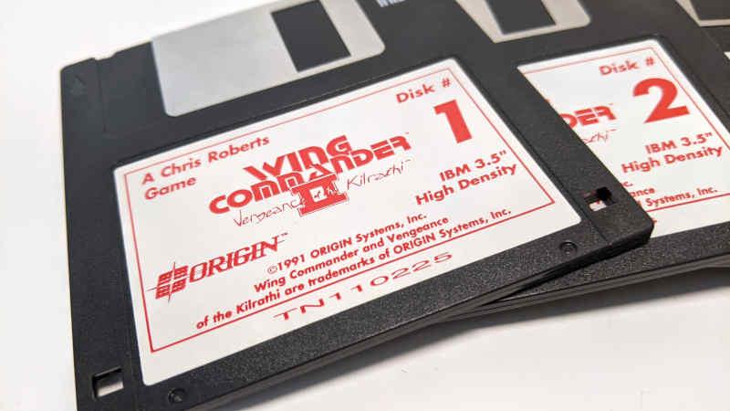 Origin Wing Commander II – Vengeance of the Kilrathi - 1991 - A Chris Roberts Game