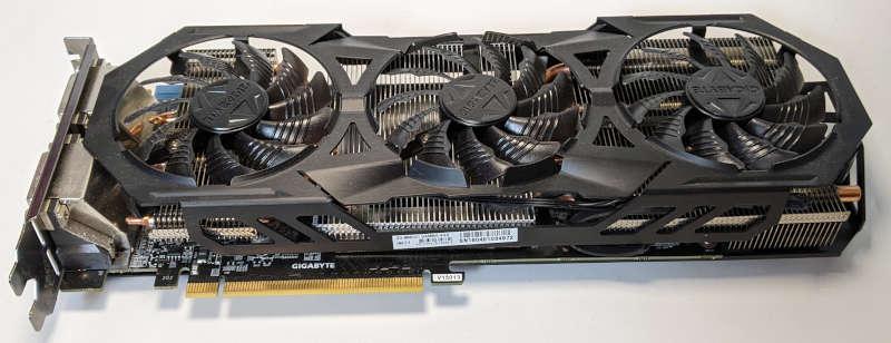 Gigabyte Nvidia GV-N960G1 GAMING-4GD Grafikkarte PCI-Express