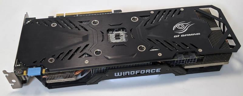 Gigabyte Nvidia GV-N960G1 GAMING-4GD Grafikkarte Windforce Kühler
