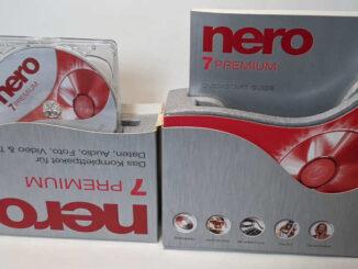 Nero 7 Premium Brennprogramm CD-Recording Software CD-ROM Handbuch