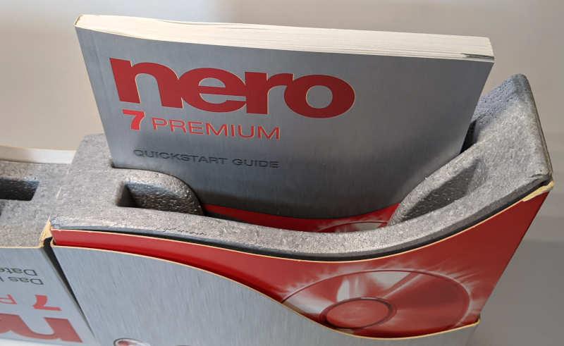Nero 7 Premium Brennprogramm CD-Recording Software Handbuch