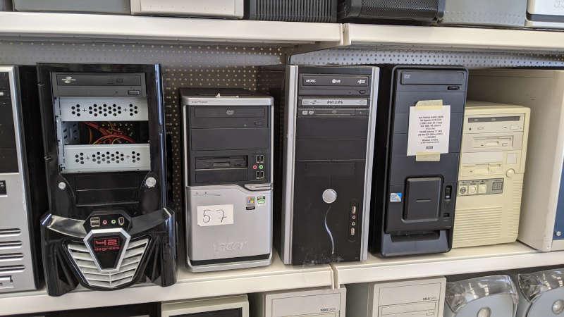 """PC """"42"""" und Acer PC Nr. 57"""