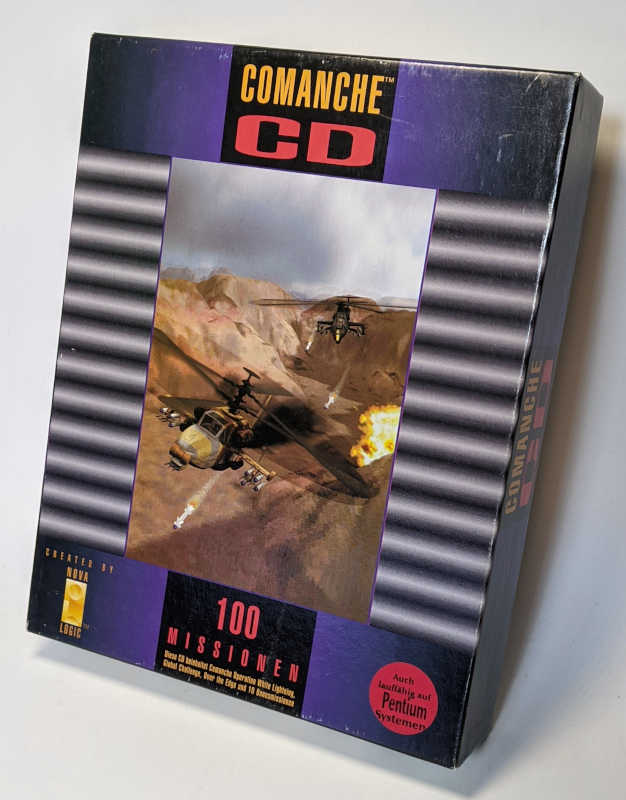 PC-Spiel Comanche CD Helikoptersimulation mit 100 Missionen Originalverpackung