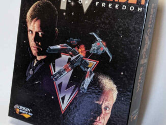 PC-Spiel Wing Commander IV - The Price of Freedom - Originalverpackung