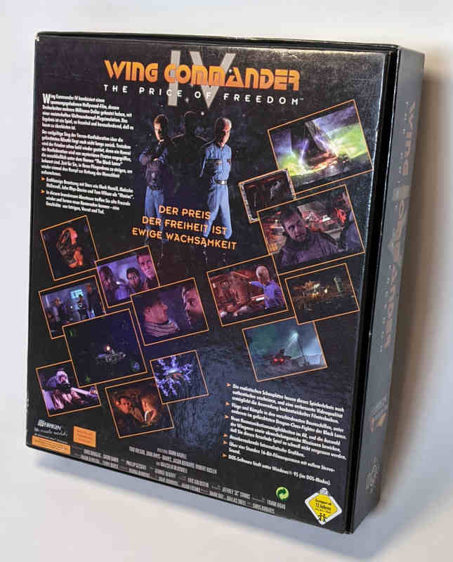 PC-Spiel Wing Commander IV - The Price of Freedom - BigBox