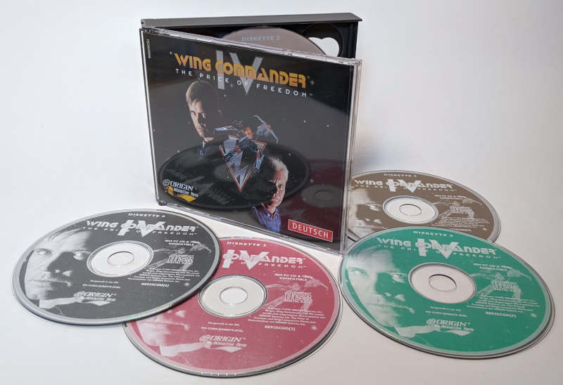 PC-Spiel Wing Commander IV - The Price of Freedom - CD JewelBox