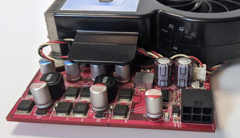 PowerColor X1950 PRO Grafikkarte - Radeon - Stromversorgung