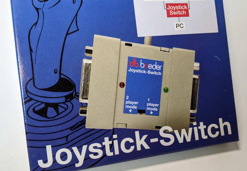 Boeder Joystick Switch Gameport für PC - 2 Player