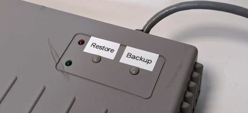 Interact Memory Disk Drive für Sony Playstation 1 - Restore und Backup