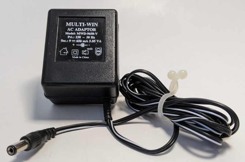 Interact Memory Disk Drive für Sony Playstation 1 - Netzteil