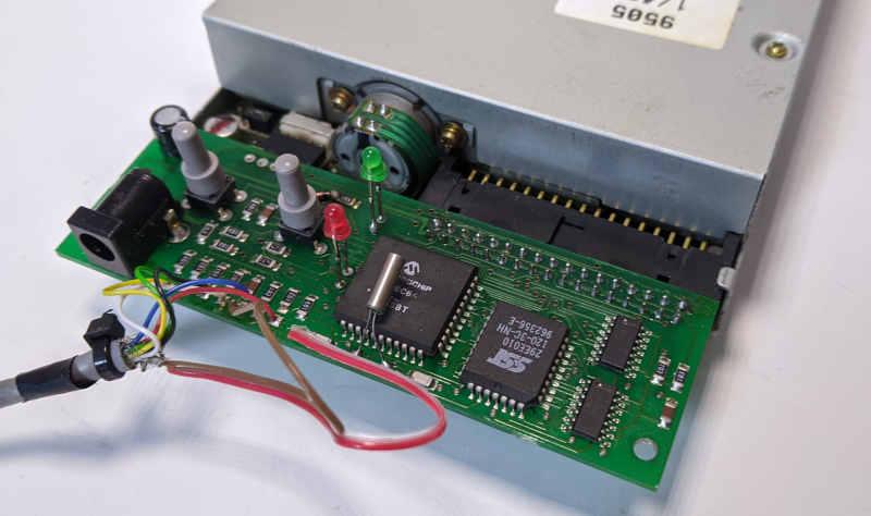 Interact Memory Disk Drive für Sony Playstation 1 - Platine