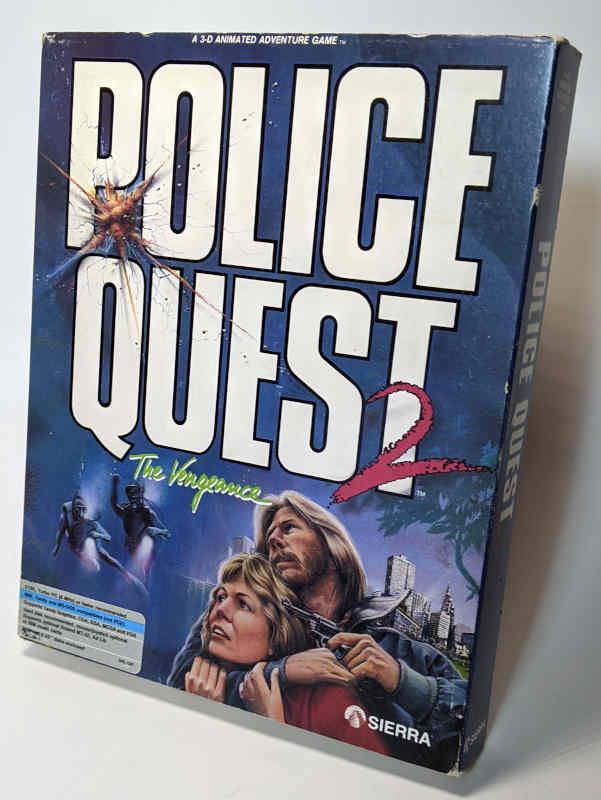 PC-Spiel Police Quest 2 - The Vengeance Originalverpackung Box