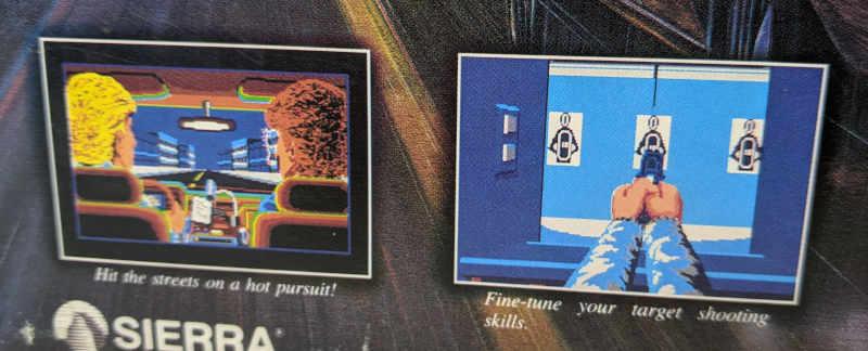 PC-Spiel Police Quest 2 - The Vengeance Originalverpackung Screenshots