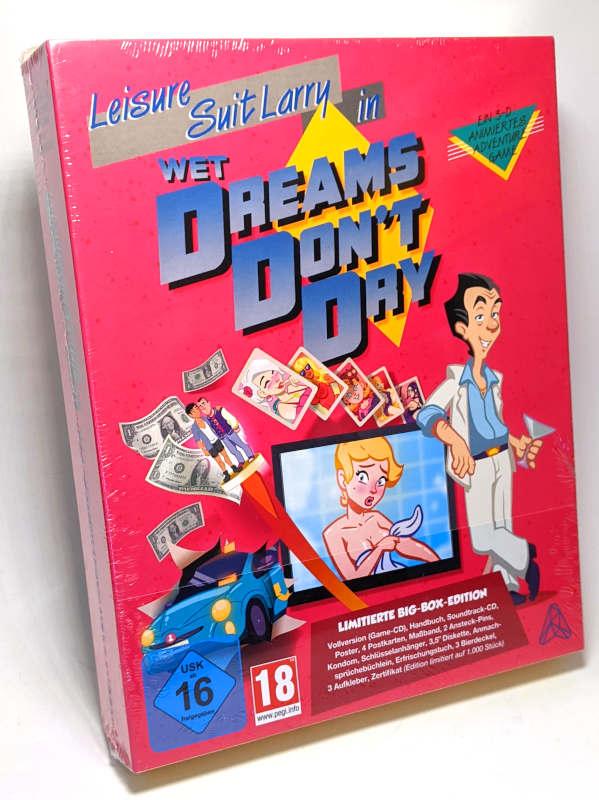 PC-Spiel Leisure Suit Larry in Wet Dreams Don't Dry Original-Box