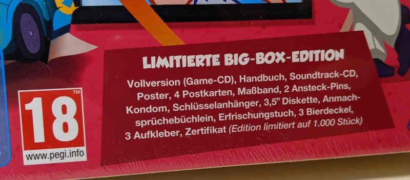 PC-Spiel Leisure Suit Larry in Wet Dreams Don't Dry - Limitierte Big Box Edition