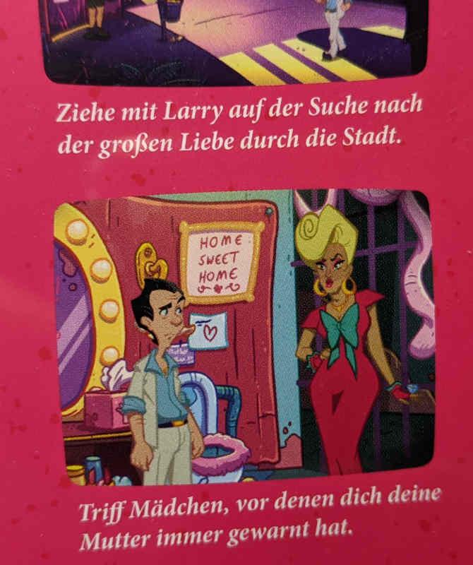 PC-Spiel Leisure Suit Larry in Wet Dreams Don't Dry - Grafik
